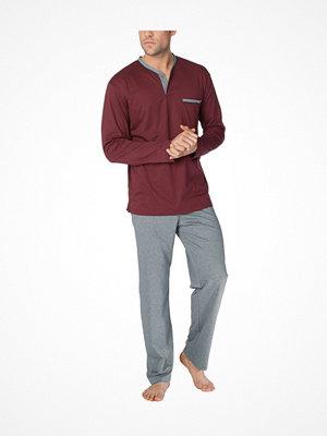 Pyjamas & myskläder - Calida Louis Pyjama  Grey/Red