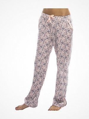 Pyjamas & myskläder - Damella 79083 Pyjamas Pant Pink Pattern