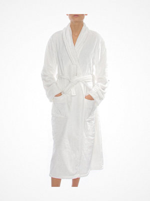 Morgonrockar - DKNY Signature Robe White