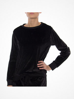 DKNY Insert Logo LS Sleep Top Black