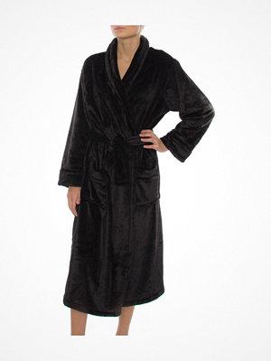 Morgonrockar - DKNY Signature Robe Black