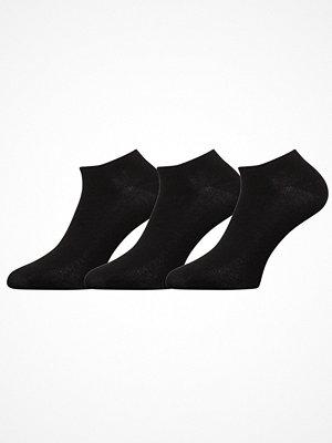 Strumpor - Decoy 3-pack Ladies Sneaker Socks Black