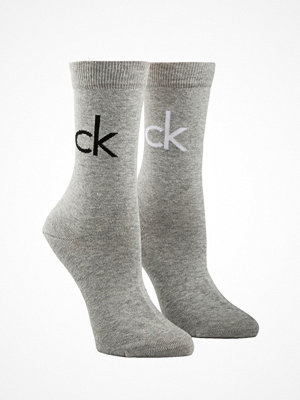 Calvin Klein 2-pack Reign Vintage Logo Socks Grey