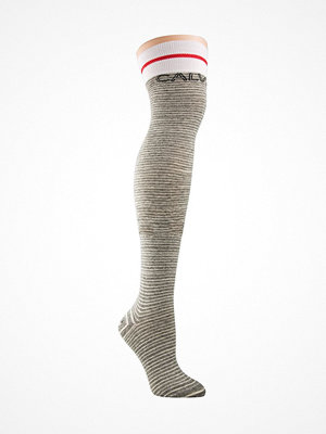 Calvin Klein Modern Cotton Logo Tube Kyra Socks Grey