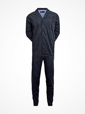 Pyjamas & myskläder - JBS Pyjamas 133 Blue Pattern
