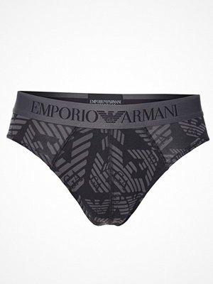 Armani Fancy All Over Big Eagles Brief Black/Grey