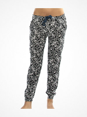 Calvin Klein Wovens Viscose Bottom Pant Jogger Black pattern-2