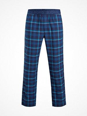 Pyjamas & myskläder - Björn Borg Winter Check Pyjama Pant Darkblue