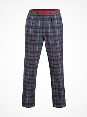 Pyjamas & myskläder - Björn Borg Winter Check Pyjama Pant Grey