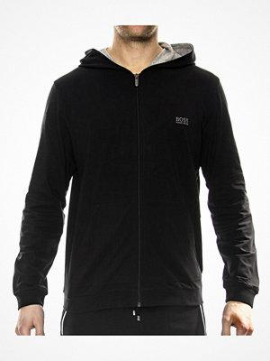 Pyjamas & myskläder - Hugo Boss Mix and Match Jacket Hooded Black