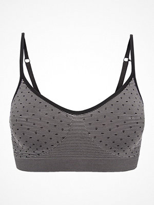 Missya Lucia Bra Top Dot Black/Grey
