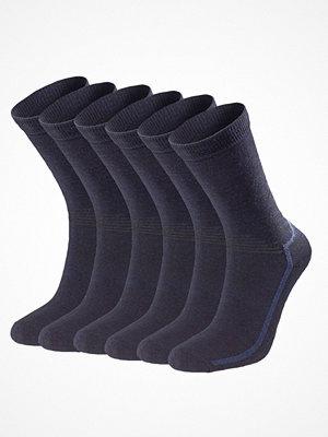 Strumpor - Pierre Robert 6-pack Sport Wool Socks  Navy-2