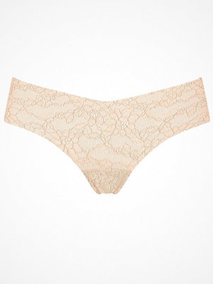Trosor - Sloggi 6-pack Light Lace 2.0 Brazil Panty Beige