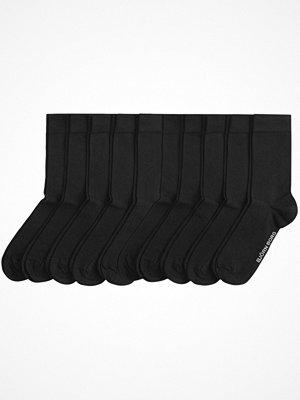 Strumpor - Björn Borg 10-pack Basic Solid Socks Black