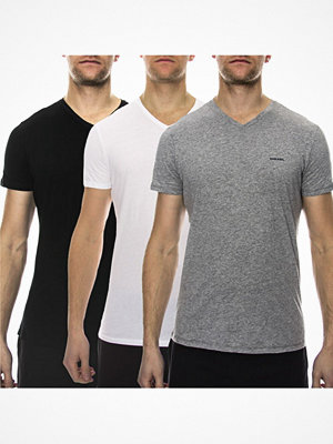 Pyjamas & myskläder - Diesel 3-pack Jake V-neck T-shirt Multi-colour