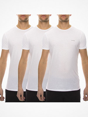 Pyjamas & myskläder - Diesel 3-pack Jake Crew Neck T-shirt White