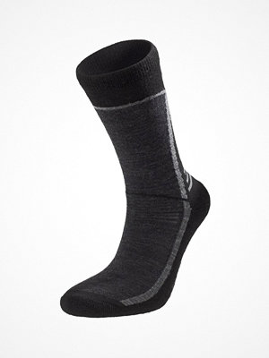 Strumpor - Pierre Robert Sport Wool Sock Black/Grey