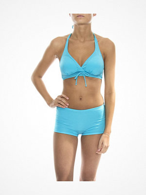 Damella Bikini Halterneck Bra And Hipster Set Aqua