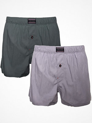 Tommy Hilfiger 2-pack Woven Boxer Blue