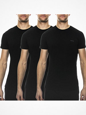 Pyjamas & myskläder - Diesel 3-pack Jake Crew Neck T-shirt Black