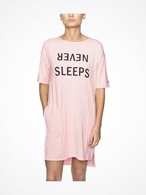 DKNY Never Sleeps 3-4 Sleeve Sleepshirt Lightpink