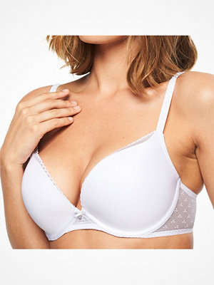 Chantelle Courcelles Push-up Bra White