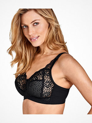 Miss Mary of Sweden Miss Mary Cotton Soft Cup Bra Black