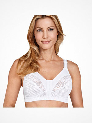 Miss Mary of Sweden Miss Mary Soft Cup Bra With Front Closure 2225 White