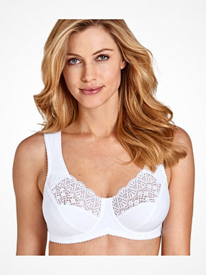 Miss Mary of Sweden Miss Mary Cotton Underwire Bra White