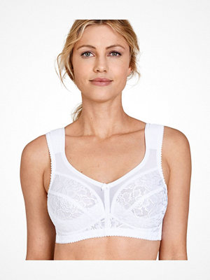 Miss Mary of Sweden Miss Mary Elastic Lace Bra 2115 White