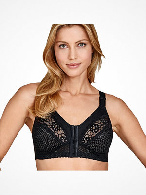 Miss Mary of Sweden Miss Mary Soft Cup Bra With Front Closure 2225 Black