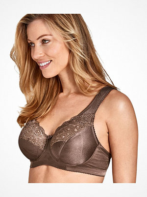 Miss Mary of Sweden Miss Mary Steady Modern Underwire Bra Brown