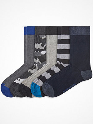 Björn Borg 5-pack Solid Ankle Socks Grey/Black