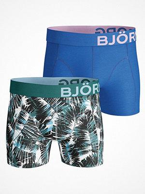 Kalsonger - Björn Borg 2-pack Summer Palm Shorts Blue/Green