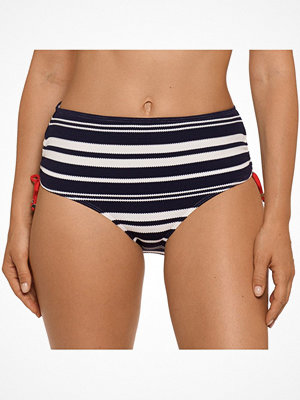 Bikini - Primadonna Pondicherry Bikini Full Briefs Ropes White/Navy