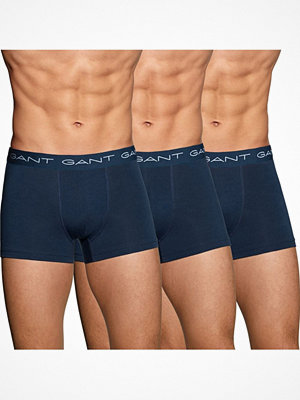 Gant 3-pack Essential Basic CS Trunks Navy-2