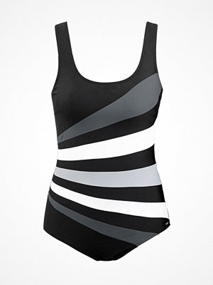 Abecita Action Swimsuit  Black/Grey