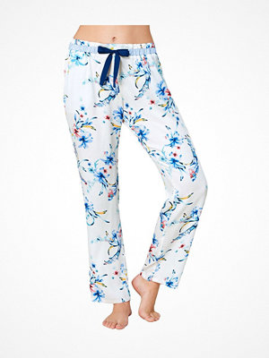 Pyjamas & myskläder - Triumph Everyday Mix and Match Trousers Viscose White Pattern-2