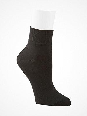 Strumpor - Calvin Klein Karina Modern Logo Anklet Socks Black