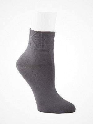 Strumpor - Calvin Klein Karina Modern Logo Anklet Socks Grey