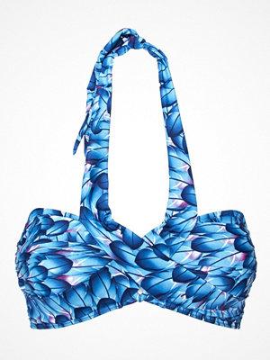 Missya Flora Bikini Bandeau Print Blue Pattern