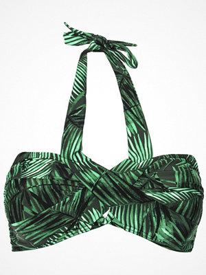 Missya Flora Bikini Bandeau Print Green Pattern