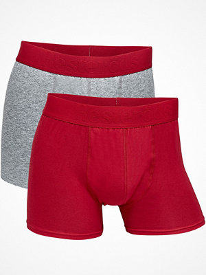 Resteröds 2-pack Gunnar Boxer Grey/Red