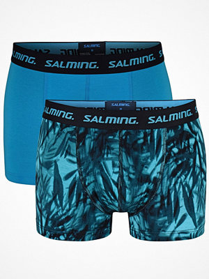 Salming 2-pack Deed Bamboo Boxer Turquoise Patt