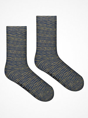 Strumpor - Frank Dandy Bamboo Crew Socks Blue/Green