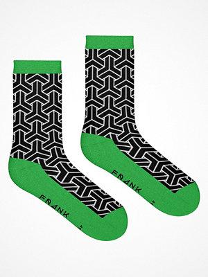 Frank Dandy Bamboo Crew Socks Black/Green