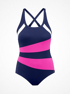 Abecita Speed Swimsuit  Blue/Pink