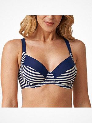 Abecita Sailor Underwired Bra  Blue Striped