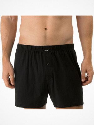 Calida Activity Cotton Boxer Short Fly  Black