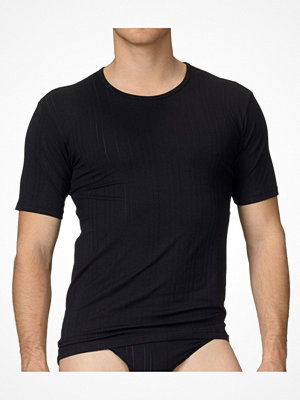 Pyjamas & myskläder - Calida Pure & Striped T-Shirt Black